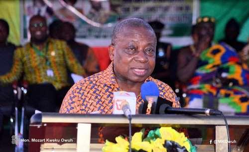 Hon. Agyeman Manu (Health Minister)