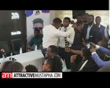 Watch how Shatta Wale's Manager Julio ,Bulldog and others  caused confusion at Zylofon