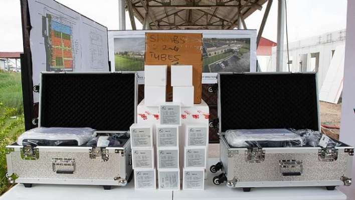 , Covid-19: Vitol Donates Testing Equipment, Kits For Infectious Disease Isolation And Treatment Centre