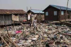 Lagos: Nigeria's commercial capital.  By FLORIAN PLAUCHEUR (AFP)