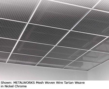 Metal Mesh Ceiling Armstrong Www Energywarden Net