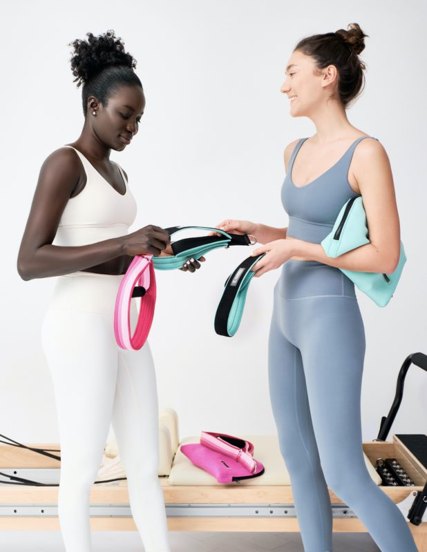 Intuitively created, most comfortable straps for Pilates class. ELEMENTS by Momentum World