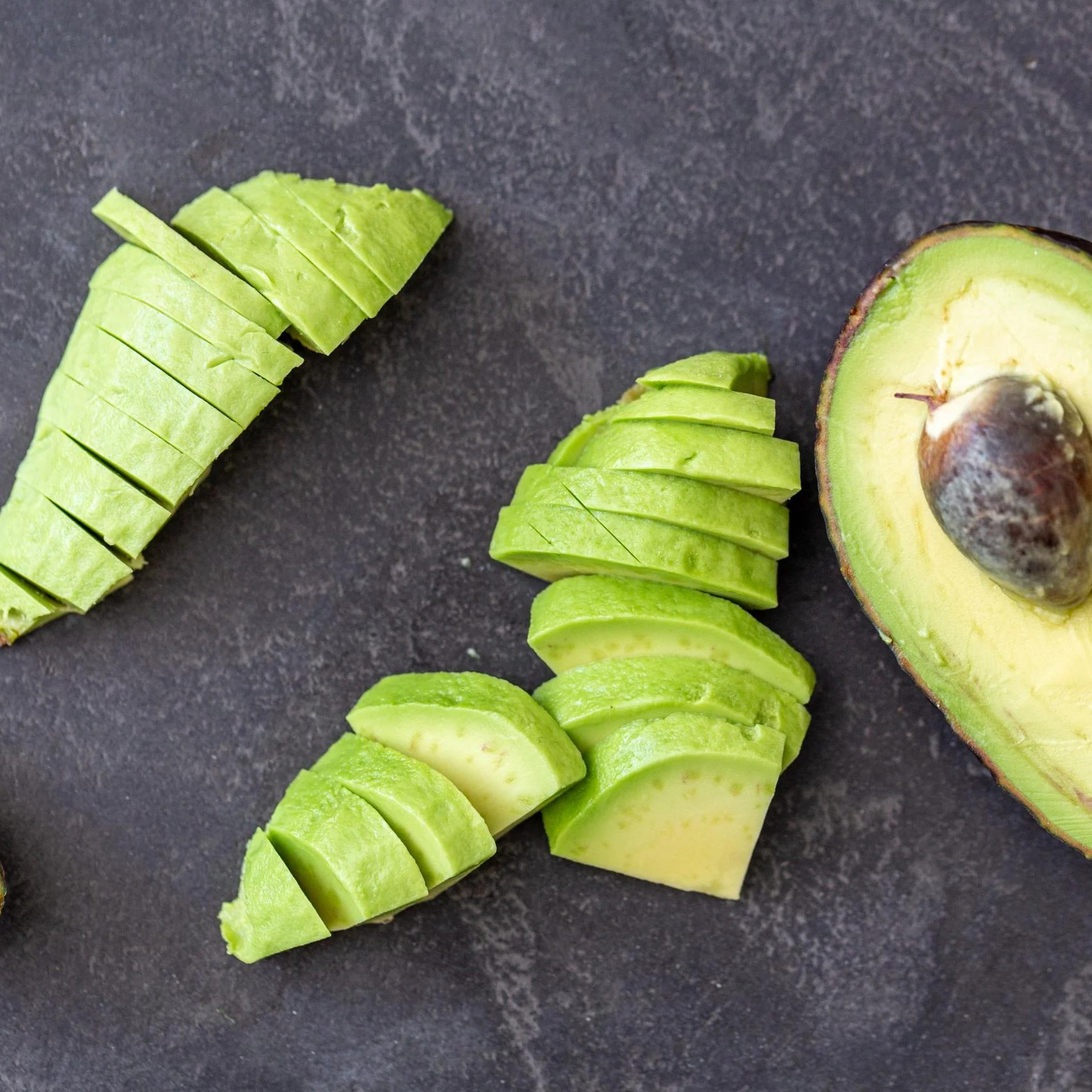 avocado cut into pieces
