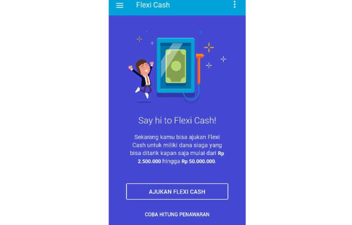 Flexi Cash cara bikin Berapa Persen Bunga Flexi Cash Jenius Sekarang?