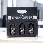 Bier Handtasche Fur Manner Chefkoffer Mit Drei Bierflaschen