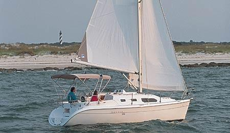 2003 Used Hunter 306 Cruiser Sailboat For Sale 29000