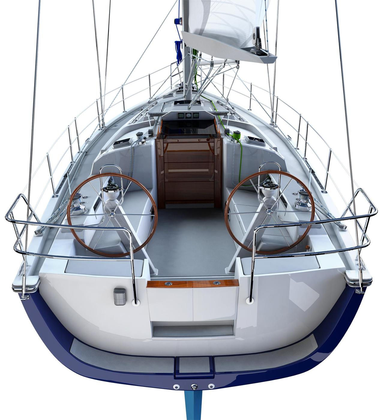 2018 New Blue Jacket 40 Racer And Cruiser Sailboat For
