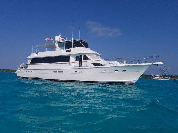 1989 Used Hatteras CPMY Motor Yacht For Sale 599000