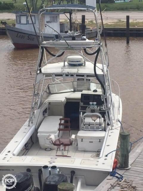 1989 Used Boston Whaler 27 Cuddy Walkaround Fishing Boat