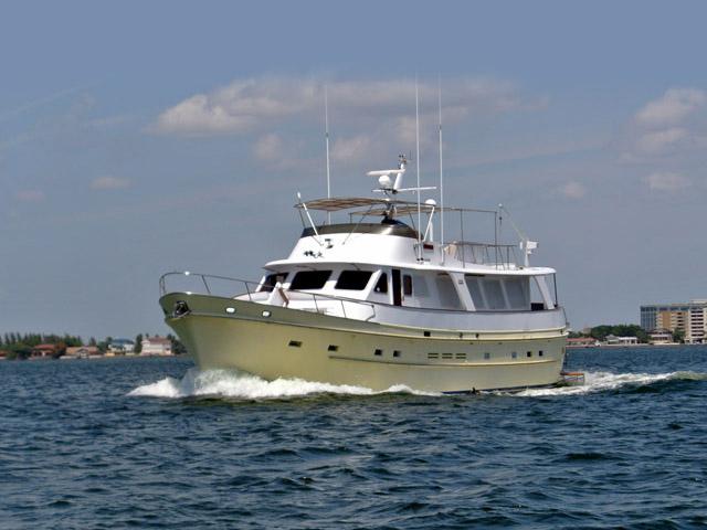 1986 Used Cheoy Lee 66 Long Range Motor Yacht For Sale