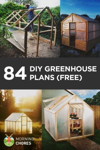 84 DIY Greenhouse Plans You Can Build This Weekend  Free  84 Free DIY Greenhouse Plans to Help You Build One in Your Garden This  Weekend