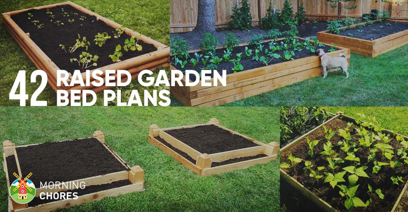 59 DIY Raised Garden Bed Plans & Ideas You Can Build in a Day on Backyard Raised Garden Bed Ideas id=82166