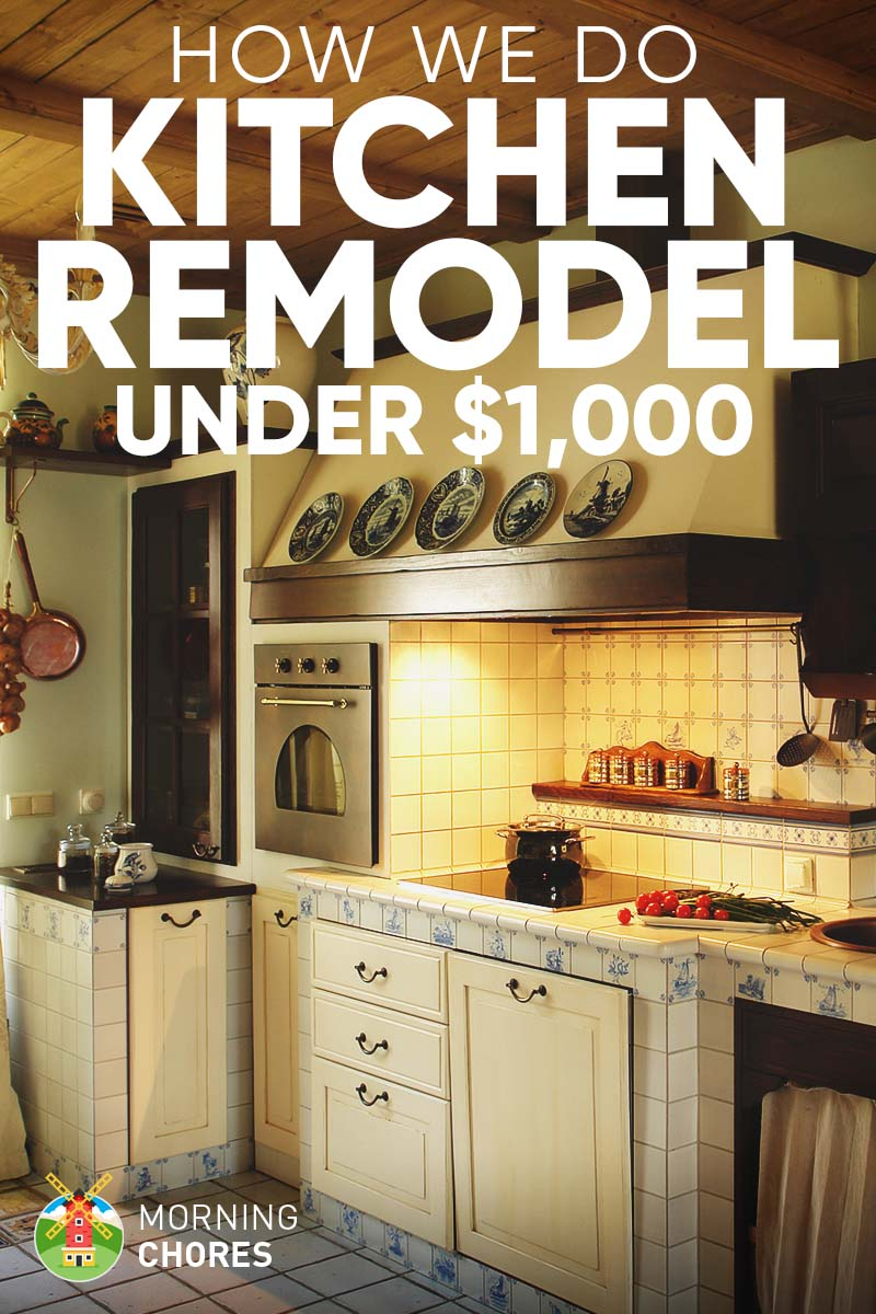 DIY Kitchen Remodel Ideas: How We Do It for under $1,000 on Small:xmqi70Klvwi= Kitchen Remodel Ideas  id=85050