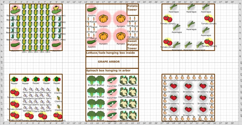 Kitchen Layout Planner Grid