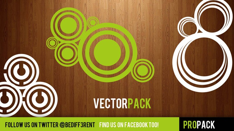 free Photoshop brushes: vector pack
