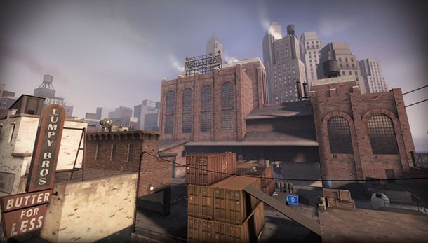 Team Fortress 2 Mannhattan Update Reveals New Map Weapon Effects Leaderboards PC Gamer