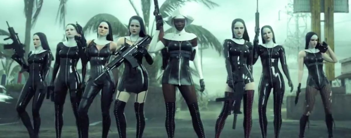 Hitman Absolution Trailer Has Bdsm Nuns For Some Reason