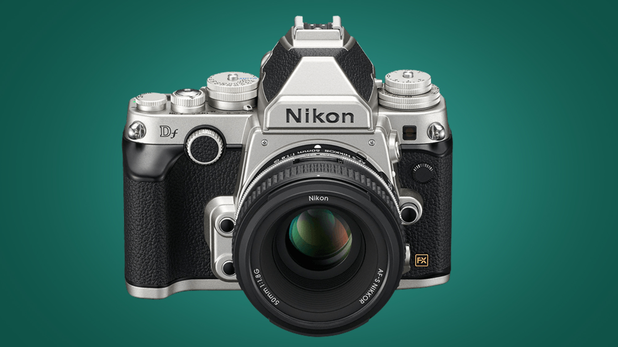 Image showing front of Nikon Df DSLR