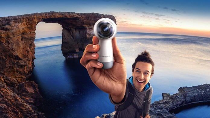 Best 360 cameras: Samsung Gear 360