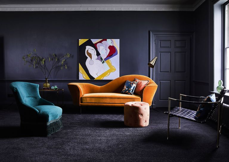 Black Living Room Ideas 10 Stylish Ways To Create A Dramatic Space Real Homes