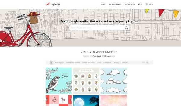 Free vector art: DryIcons
