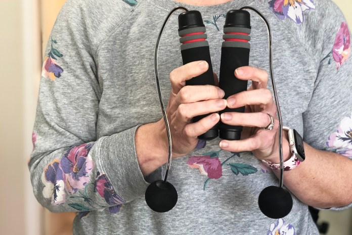 Best weighted jump ropes: Benvo Weighted Ropeless Jump Rope