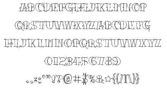 38c209e82a1e36f2ac2aab3c77cc548d 51 free tattoo fonts for your body art Random