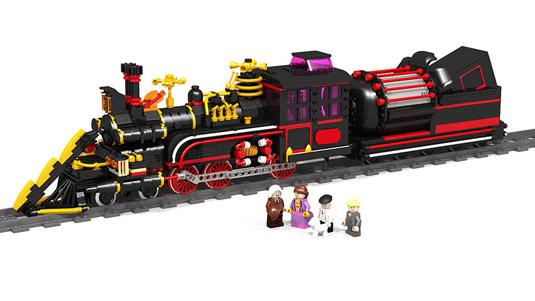 Lego art: Back to the Future