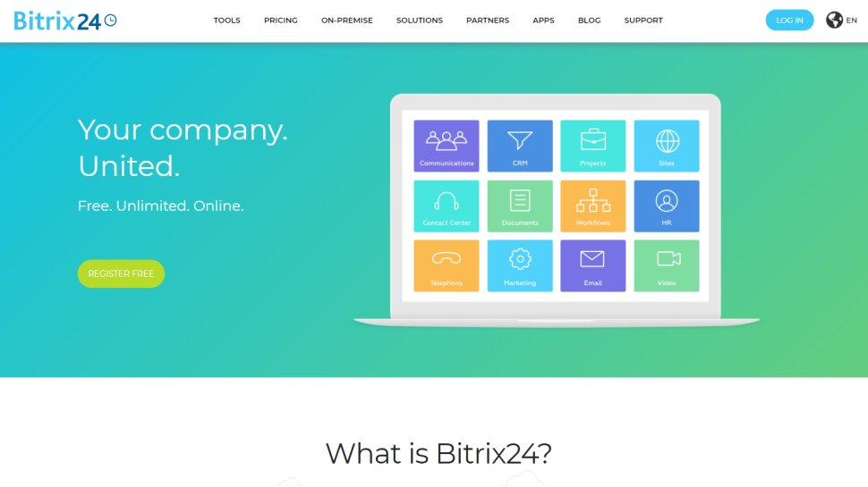 Bitrix24 - Collaborate with the best of them using Bitrix's free tier