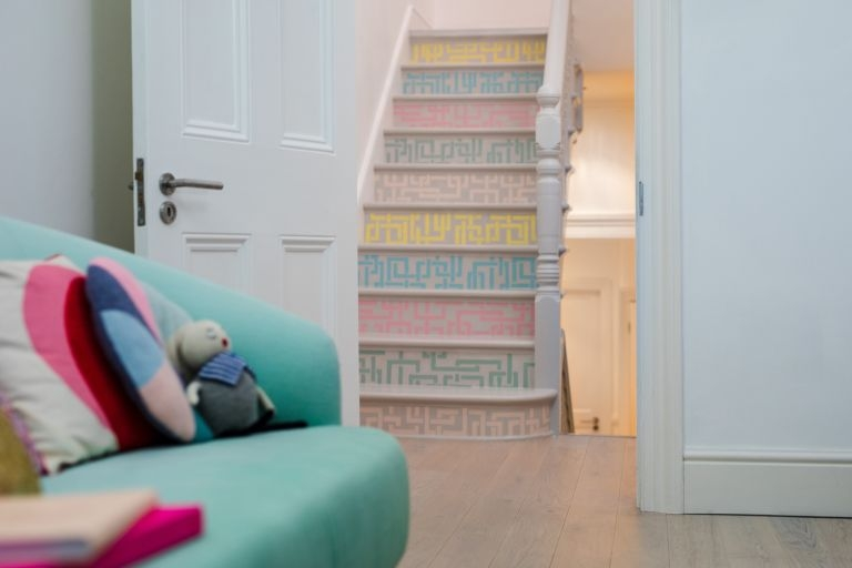 Painting Stairs 10 Ideas And Tips On How To Update Your Stairs   Stair Wall Colour Design   Wood Wall   Before And After   Room Wall   Hall Colour Combination   Family