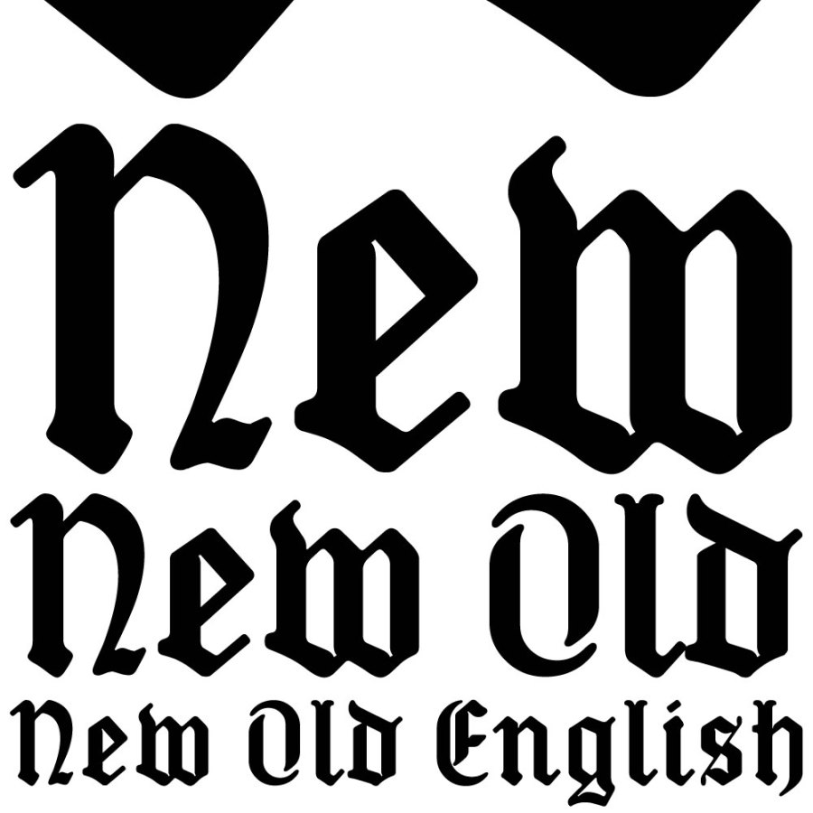 Old English fonts: New Old English