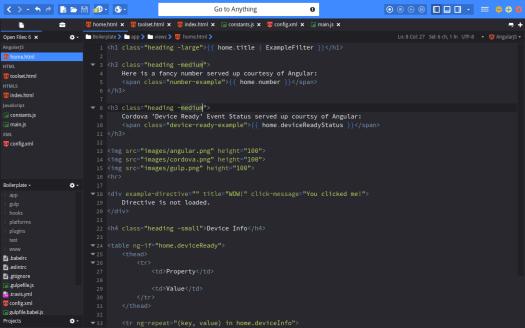 best code editors: Komodo Edit code editor