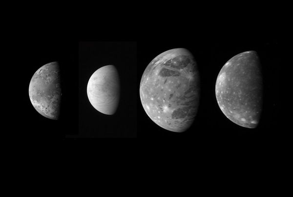 Jupiter's Moons: Facts About the Largest Jovian Moons | Space