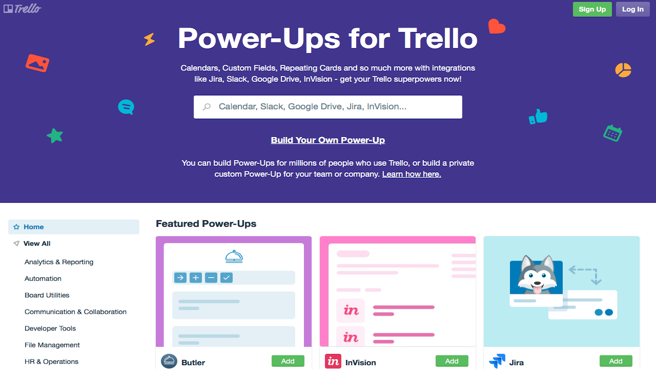 Trello power ups add extra functionality to your boards you can add buttons to boards show previews of attachments on trello cards and more