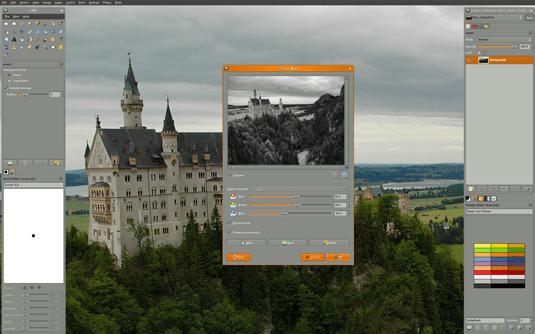 GIMP - free graphic design software
