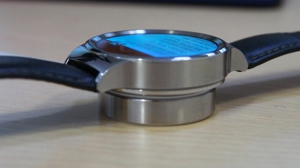 Huawei Watch on Charger