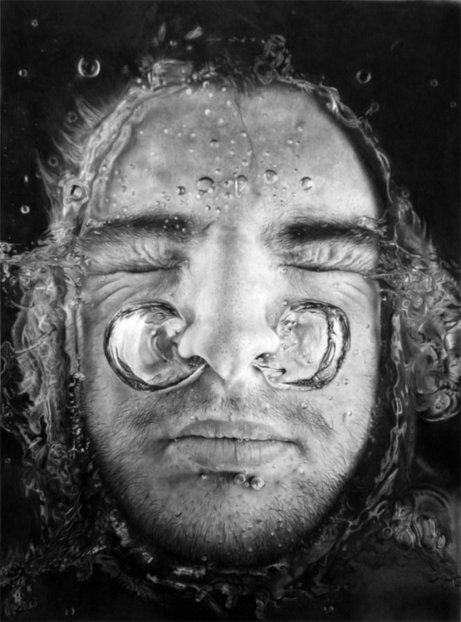 Realistic pencil drawings - Giacomo Burattini