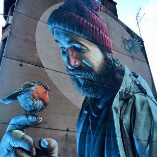 Street art: Smug
