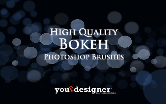 Free Photoshop brushes: Bokeh