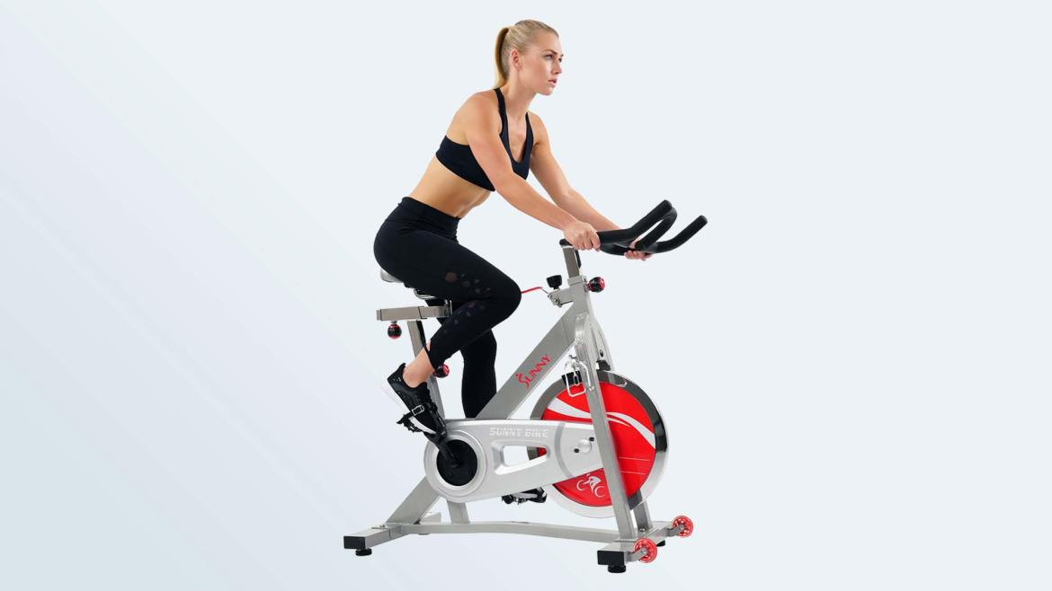 Best Exercise Bikes: Sunny Health & Fitness Indoor Cycle Bike