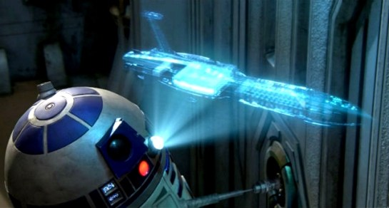 Image result for r2d2 hologram