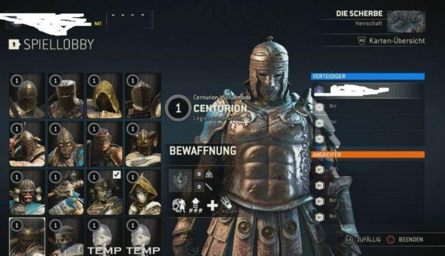 DLC For Honor: Kelas Centurion