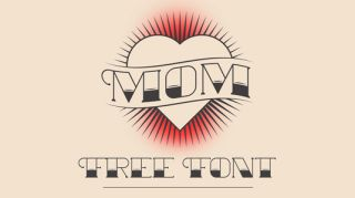 Tattoo fonts: MOM