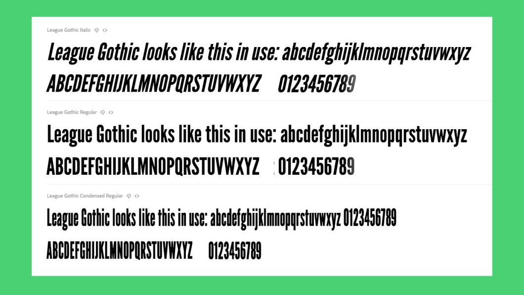 Free fonts Cornerstone