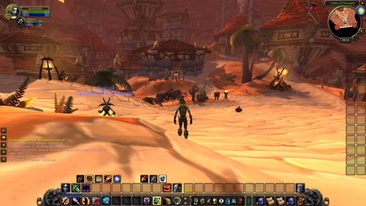 WoW Classic is a long (and slow) walk down memory lane