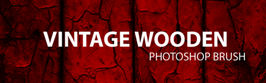 free Photoshop brushes: vintage wooden textures