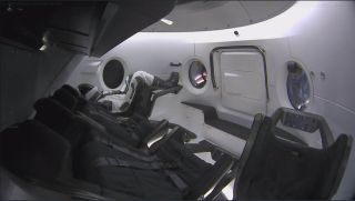 Meet Ripley, an instrumented Anthropomorphic Test Dummy riding aboard SpaceX's first Crew Dragon spacecraft.