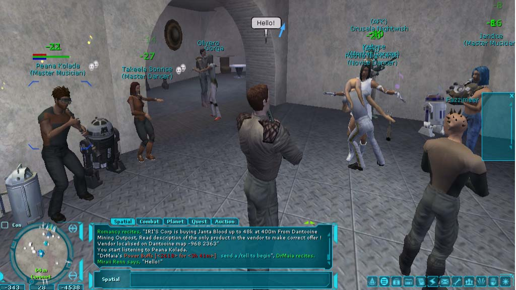 Star Wars Galaxies MMO