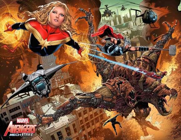 Avengers Mech Strike # 1