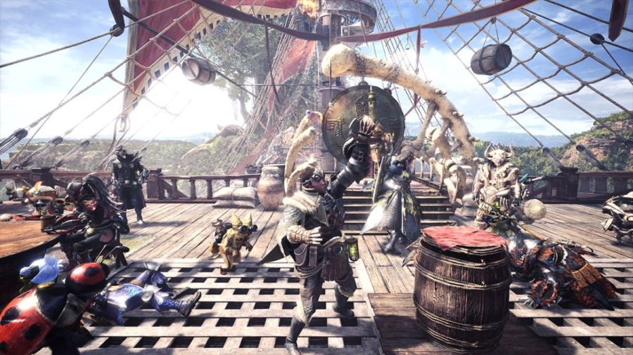 How to play online with your friends in Monster Hunter World     How to play online with your friends in Monster Hunter World   GamesRadar
